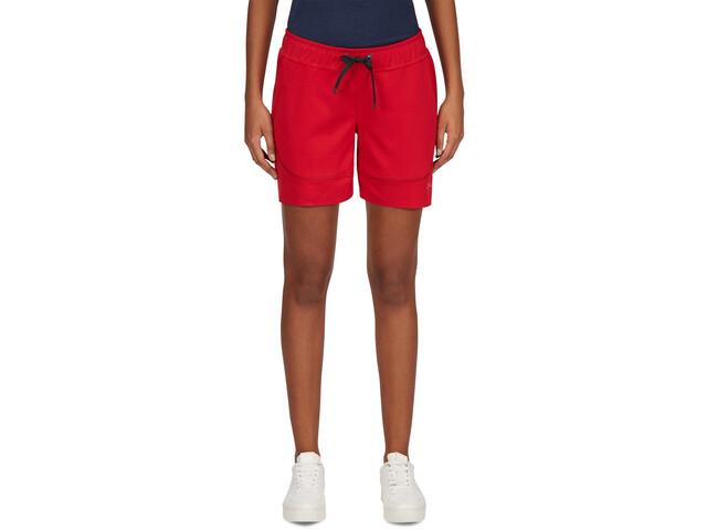 PYUA Marsh S - Pantalones cortos Mujer - rojo